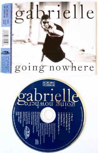 Gabrielle - Going Nowhere (CD Single) (VG+/EX-)